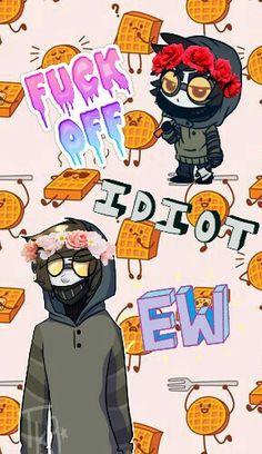 Ticci Toby   Creepypasta   Proxy   Cute   Tumblr   Wallpaper   PicsArt   Edit