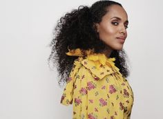 Kerry Washington for the May issue of Glamour Magazine