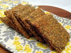 Chia Flax Crackers