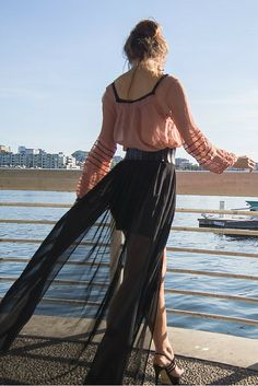 I've Got Sunshine ☀️ | Style and Travel Blogger - Peasant blouse and maxi skirt