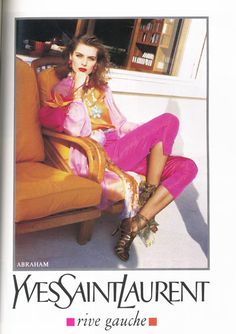 Yves Saint Laurent | Spring 1992: styleregistry