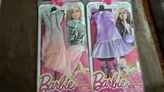 2 SETS OF BARBIE CLOTHES NEW IN PACKAGE FREE SHIPPING