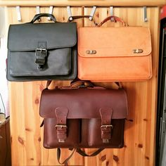 Top ones are antique Ruitertassen Bags - bottom is a recent one. Thanks to our customer fan for this picture!