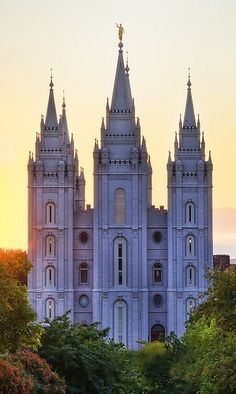 The Salt Lake City, Utah Temple. Probably the most well known temple around the world.
