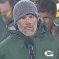Brett Favre gets number retired.. we lost this game. After being rained on for 7ish hours.