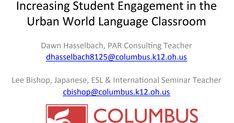 World Language Classroom, World Languages, Student Engagement, Conference, Teacher, Urban, Professor, Teachers