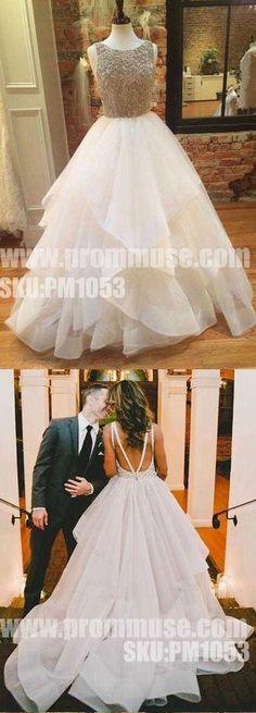 Popular Inexpensive Elegant Open Back Beaded Long Prom Dresses, - Prom Muse Princess Prom Dresses, Homecoming Dresses, Wedding Dresses, Top Dress Designers, Dance Dresses, Flower Girl Dresses, Prom Photos, Perfect Prom Dress, Evening Dresses