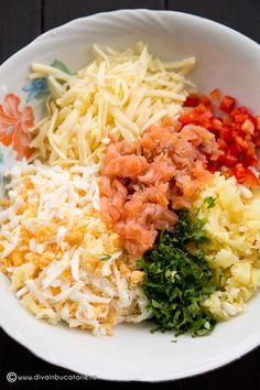 SALATA DE SOMON AFUMAT CU MIX DE OUA | Diva in bucatarie Healthy Salads, Risotto, Favorite Recipes, Ethnic Recipes, Salads