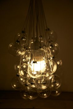 How to make a bubble light fixture using christmas ornaments diy light fixture made from christmas ornaments hello end of season sales at hobby lobby mozeypictures Image collections
