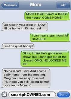 I could see myself doing this to a gullible child...