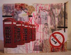 GCSE art project rauschenberg - Google Search