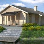 Fachadas casas techo chapa y dos aguas fotos
