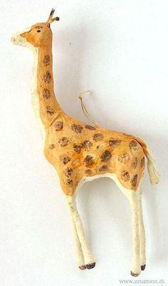 Cotton giraffe