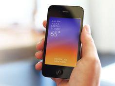 Solar iPhone App by Hollr