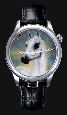 NIVREL Repeater watch 'Piece Unique', Painted Horse, Reference N 950.001.