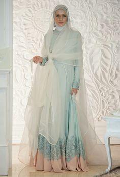 Hijab wedding style