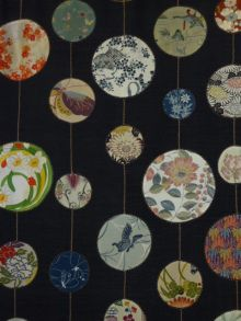 Japanese Quilt--love the circles -- this is perfect for those beautiful Japanese fabric patterns!! - going to make this for sure!!!!!!!!