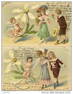 Cartes Postales / enfants amour - Delcampe.fr