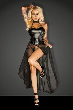 4f4fcc00b3 Noir Handmade Wetlook Long Dress