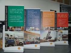 Where is Angie Banner Stand used? Buildings, offices, school Promotions Art museum..and more