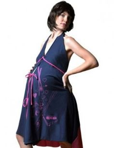 155948ec30c 6 Perfect Christmas Gifts for Your Pregnant Wife, Girlfriend or Daughter  Navy Gown, Maternity