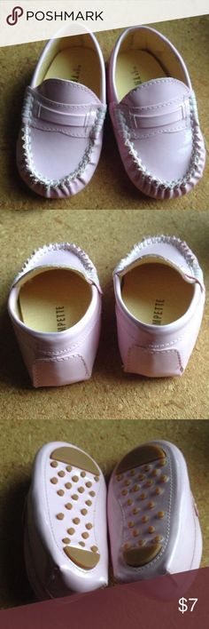 Trumpette patent leather loafers size 3 Such cute shoes! Little pink loafers Shoes
