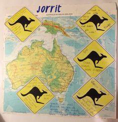 Afscheidscadeau Australië