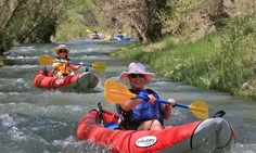 2-to-3 hour self-guided inflatable float trip allows kayakers to view the high desert's natural beuaty as they traverse the Verde River