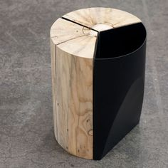 three legged table - Google Search Urban Furniture, Street Furniture, Furniture Design, Trash Bins, Forest Park, Recycling Bins, Wood Design, Urban Design, Compost