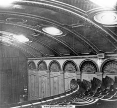 Auditorium at The Sheffield Picture Palace, Union Street, referred to in later directories as The Palace. The architects were Benton and Roberts and owned by Sheffield Picture Palace Ltd. Opened August Closed October, 1964 and later de Sheffield England, Cinema Theatre, Theatres, Auditorium, Architects, Palace, October, Photos, Pictures