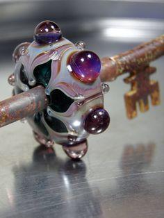 Purple Key by RASPBERRYRINGS on Etsy, £18.00