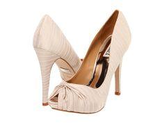 Badgley Mischka Ryba $129.99  http://www.6pm.com/badgley-mischka-ryba-cream-stripe?zfcTest=mat%3A1