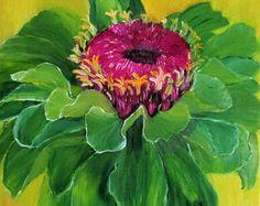 Hibiscus PAINTINGoil paintingunique canvas by oilpaintingflowers