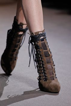 These could be turned steampunk easily. Haider Ackermann