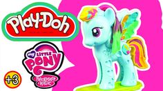 Play-Doh Rainbow Dash My Little Pony Friendship is Magic Creative Toy Pl...