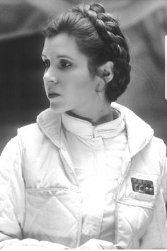 Perfection.  Carrie Fisher