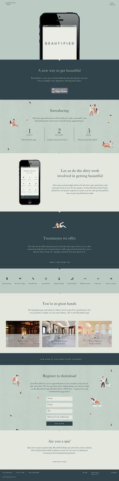 Get Beautified app and website by Lotta Nieminen