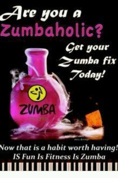 Zumba....  I totally agree.  It is the first one I had without getting me into trouble...  LOL...  CTH