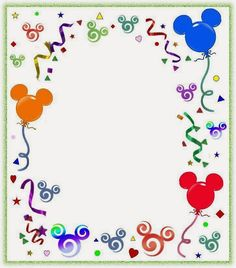 - Oh My Fiesta! in english Mickey Mouse Free Printable Frames. – Oh My Fiesta! in english Mickey Mouse Y Amigos, Mickey Mouse And Friends, Mickey Minnie Mouse, Printable Frames, Free Printable, Template Free, Disney Frames, Balloon Pictures, Disney Scrapbook Pages