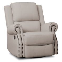 Take comfort to the next level with the Dylan Nursery Glider Swivel Recliner from Delta Children.