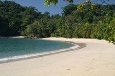 Beach at the Manuel Antonio National Park, Costa Rica ✯ ωнιмѕу ѕαη∂у