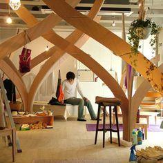 An organic living space from Tokyo Design Week