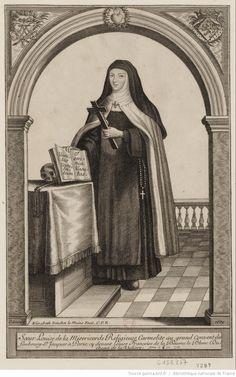 Full-length portrait of Françoise Louise de La Vallière as a Carmelite