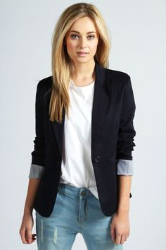 Jade Colour Block Blazer - Click the link to purchase this item or find out more about it :)