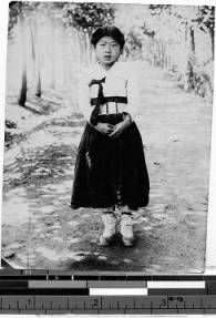 Teresa Mag Susanna Pak, Gishu, Korea, 1924 :: International Mission Photography Archive, Maryknoll