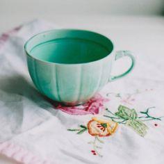 pretty green cup