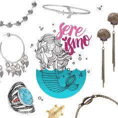Trend Sereísmo! Para sereias de todo Brasil! ;) #sereismo #vidadesereia #sereia #mermaid #biju #bijoux #acessoriosdesereia #trend #accessories
