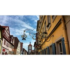 Fairy town of Germany called  Rothenburg ob der Tauber. This place is so beautiful ... and food is amazing
