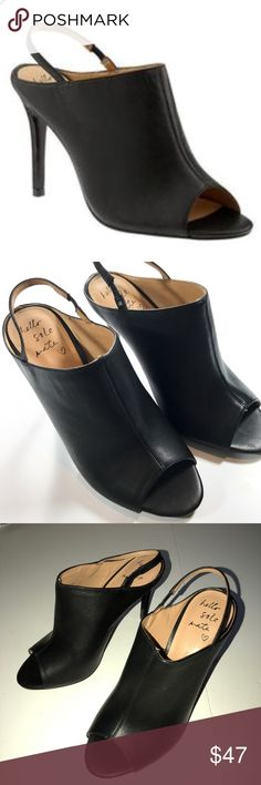 Banana Republic jolyn mule leather bootie size 7 New without box  Never tried on  100 percent leather  So comfortable  Perfect to dress up or down Banana Republic Shoes Heels