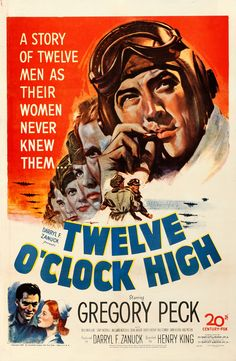 Directed by Henry King. With Gregory Peck, Hugh Marlowe, Gary Merrill, Millard Mitchell. A hard-as-nails general takes over a bomber unit suffering from low morale and whips them into fighting shape. Gregory Peck, Streaming Movies, Hd Movies, Movies To Watch, Movie Film, Movies Online, Jennifer Jones, Turner Classic Movies, Classic Movie Posters